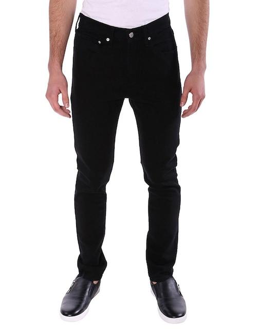 95380e60cf8 Jeans Calvin Klein corte skinny negro