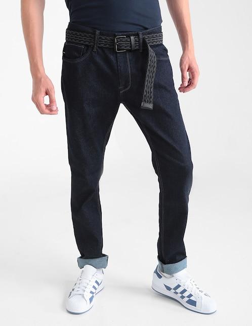 6a26d1d6b3 Jeans That s It corte skinny índigo