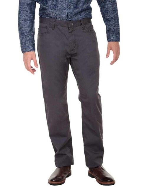 Pantalón casual Vans corte recto algodón gris oxford 946834a90d8