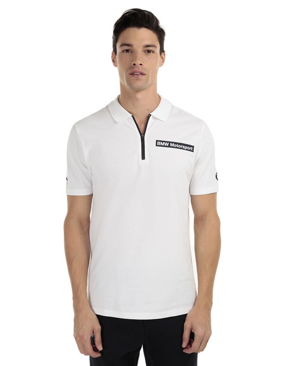 647475910 Playera polo Puma BMW Motorsport algodón blanca
