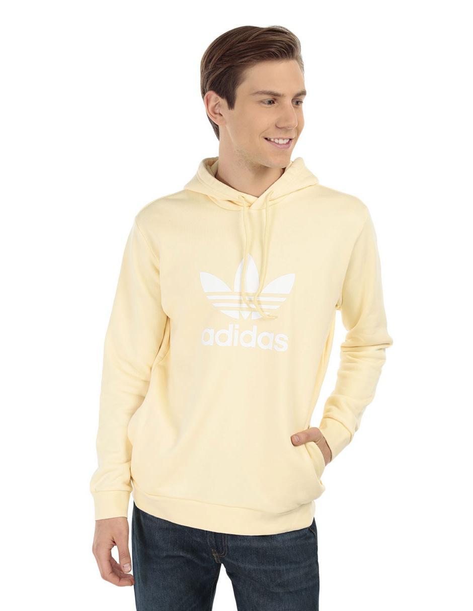 Algodón Sudadera Sudadera Algodón Originals Originals Amarilla Adidas Adidas Amarilla I0vwnxFA