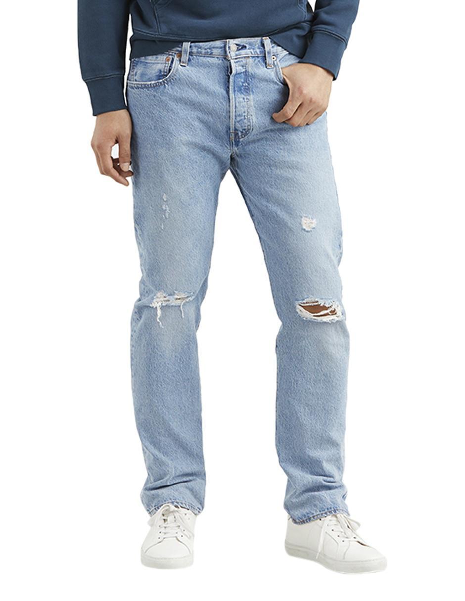 c50d00f2cd Jeans Levi s 501 corte straight azul claro Precio Lista