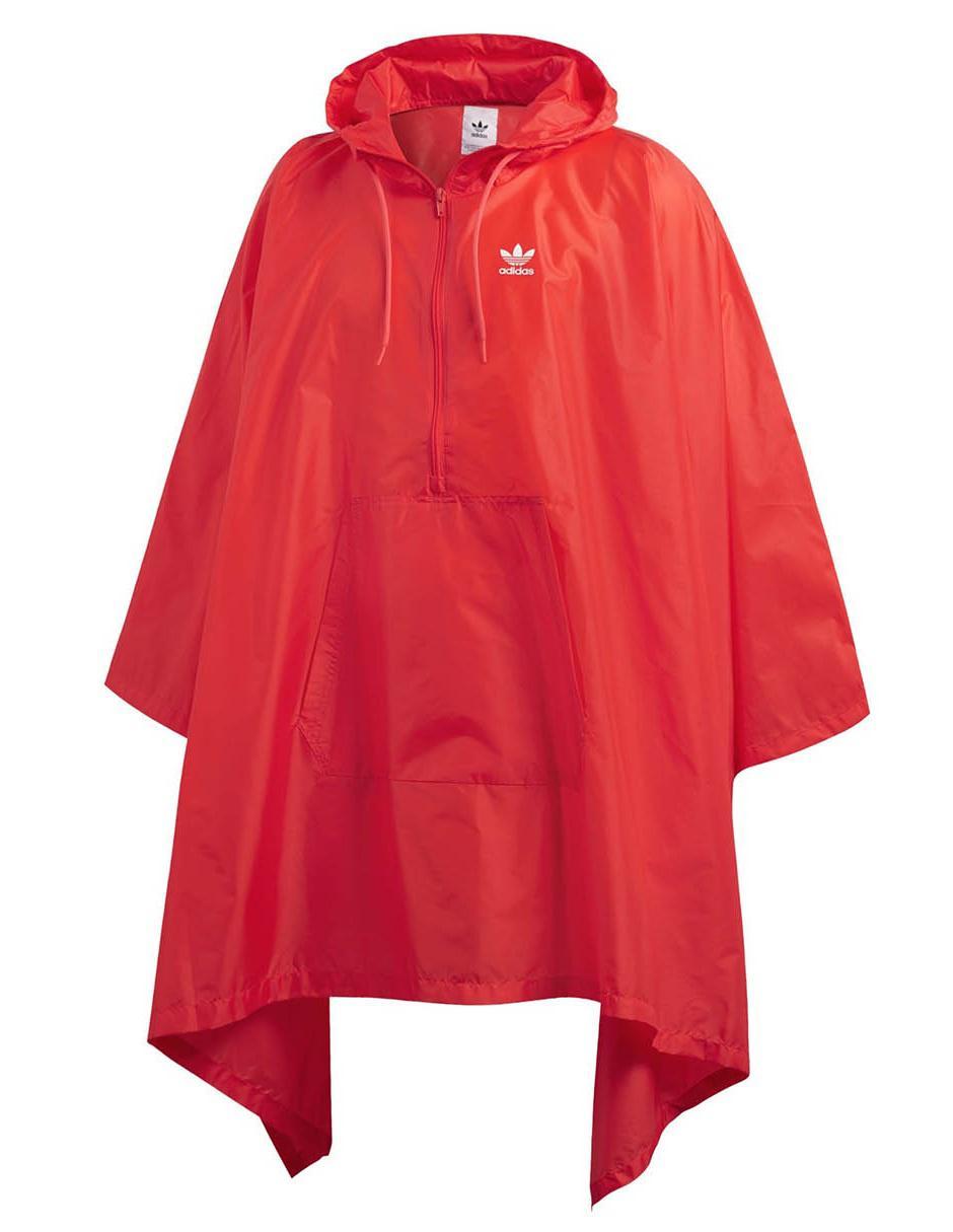 Impermeable Adidas Originals rojo f8e4426f29901