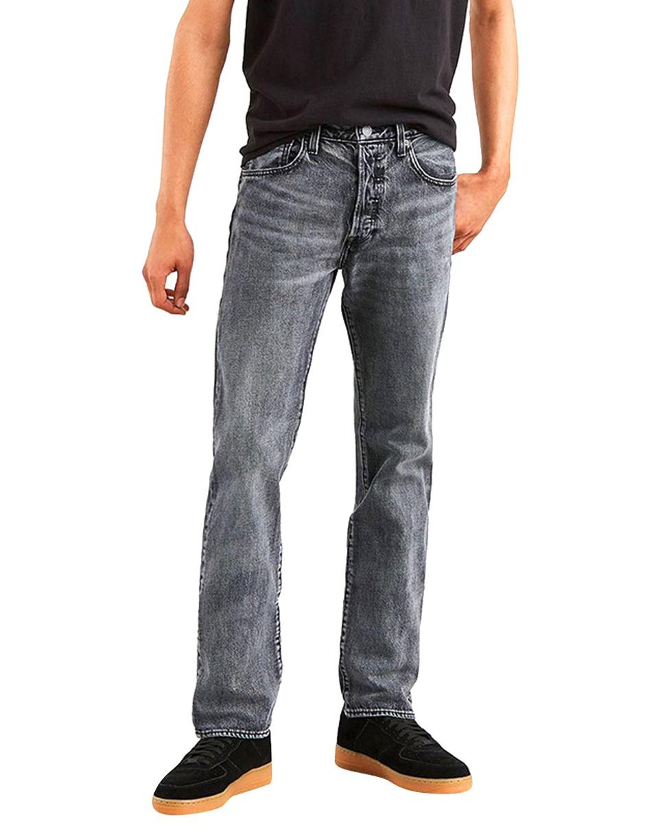 72f0b49cec Jeans Levi s 501 corte straight gris acero Precio Lista
