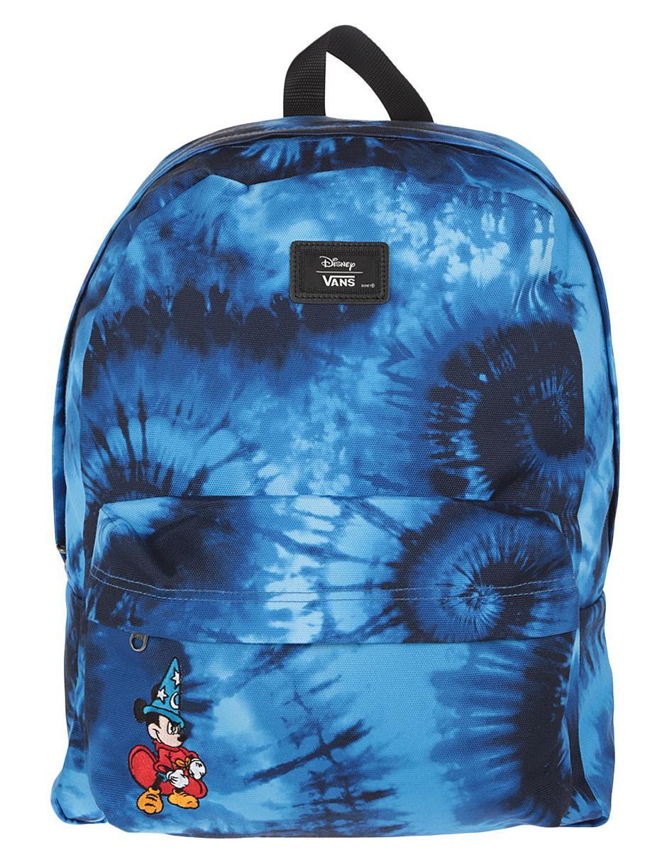 94b988899e985 Mochila Vans Disney Mickey Mouse azul