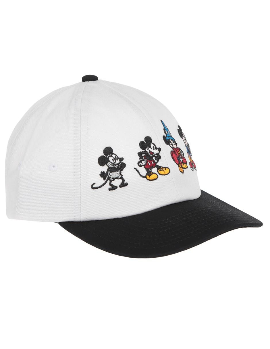 Gorra snap back Vans Disney Mickey Mouse blanca 0009d703e8f