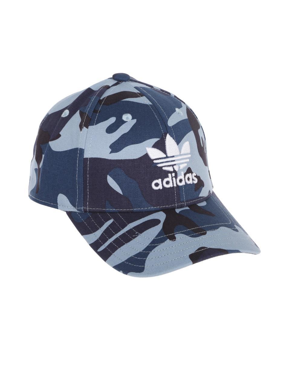 Gorra Adidas azul camuflaje