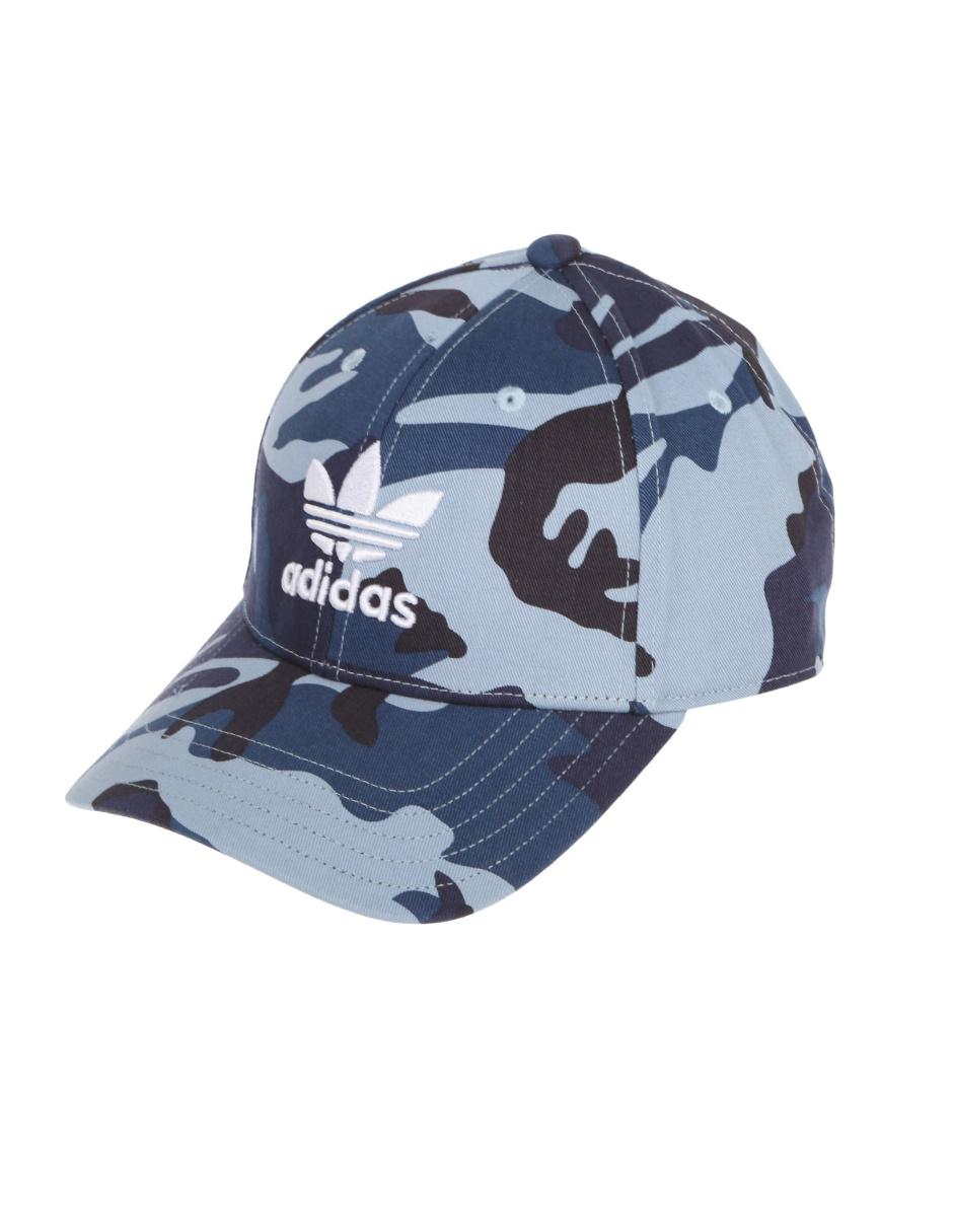 91b077fc9647 Gorra Adidas azul camuflaje