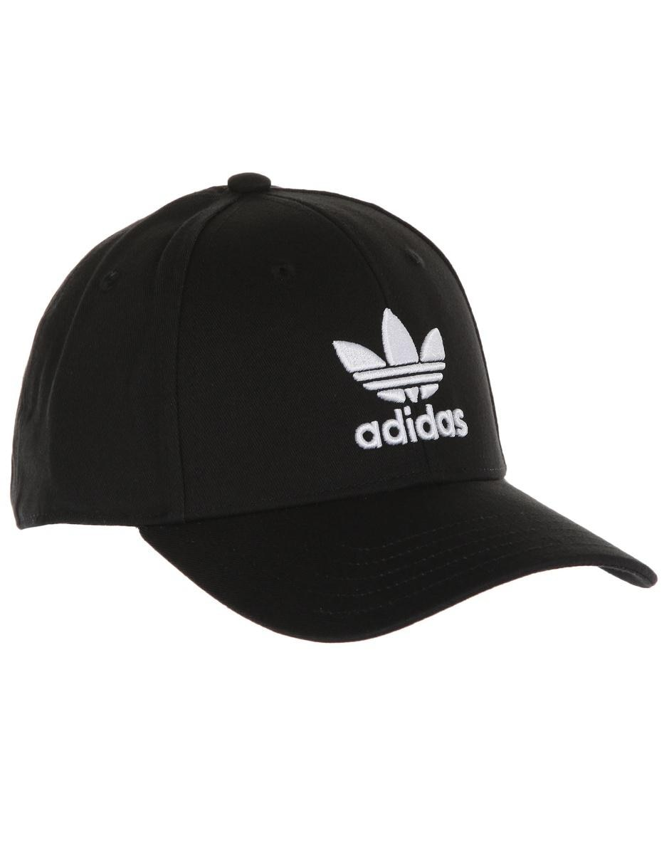 Gorra Adidas Originals negra con logotipo