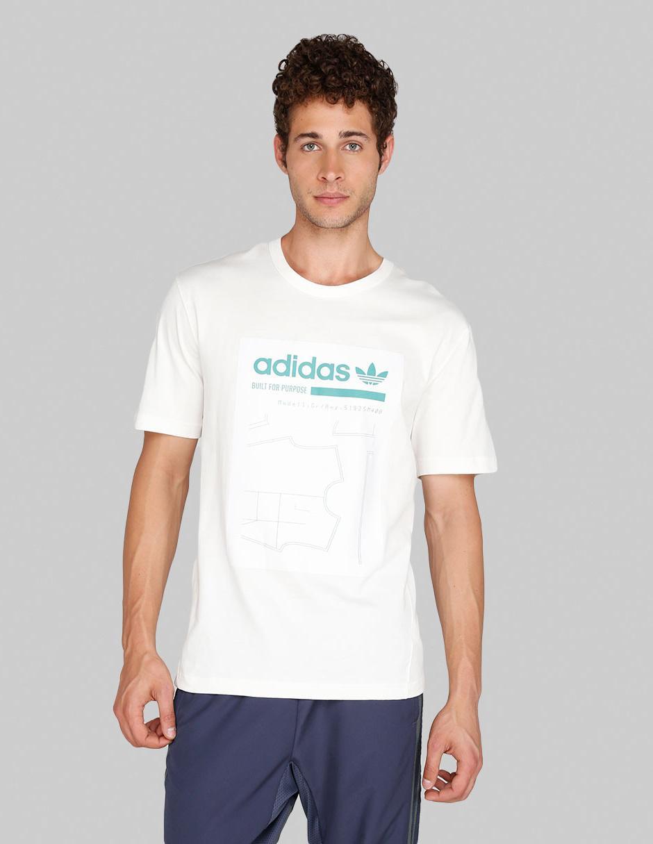 dbb0013e Playera Adidas Originals corte regular fit cuello redondo blanca |  Liverpool es parte de MI vida