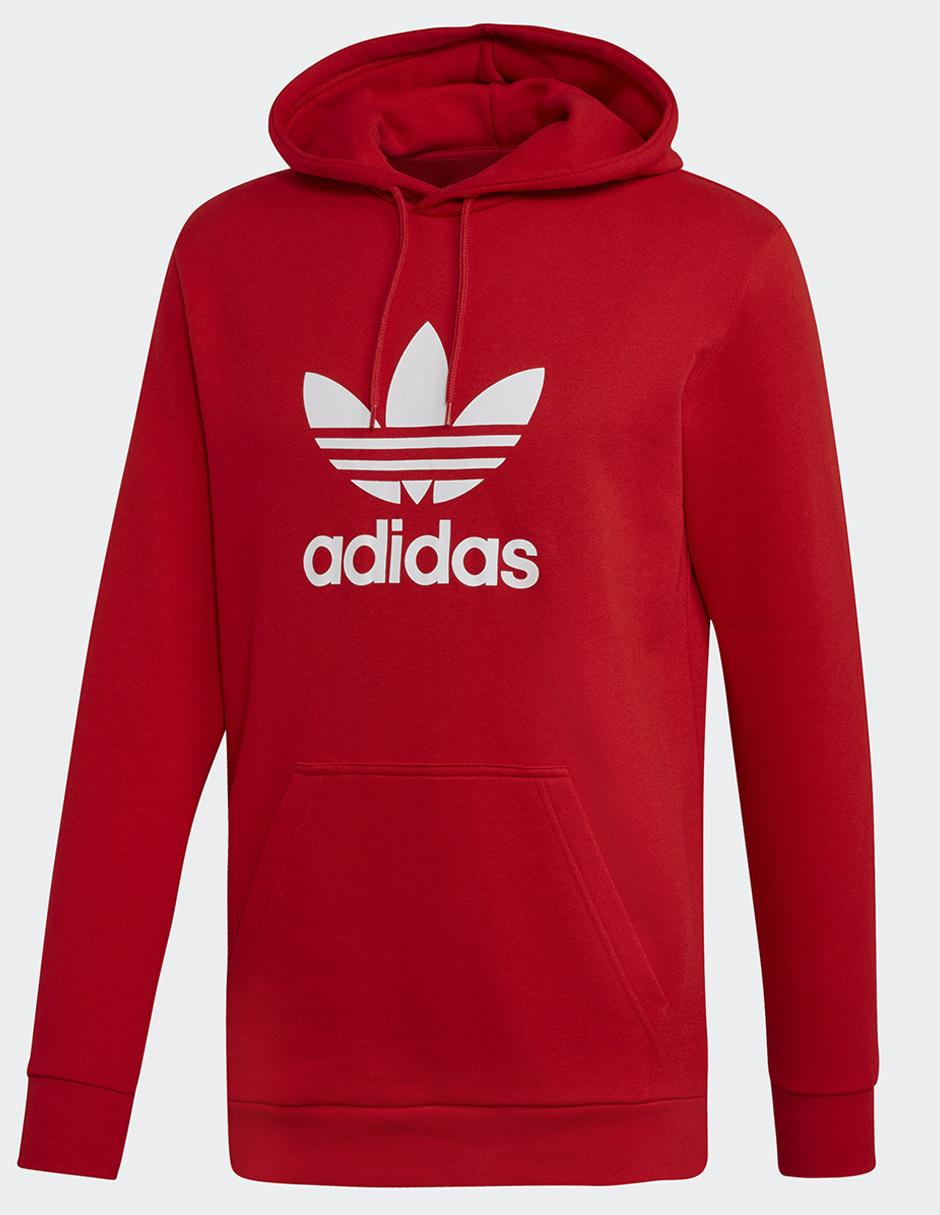 papelería Negociar Bienes  Sudadera Adidas Originals cuello redondo roja en Liverpool