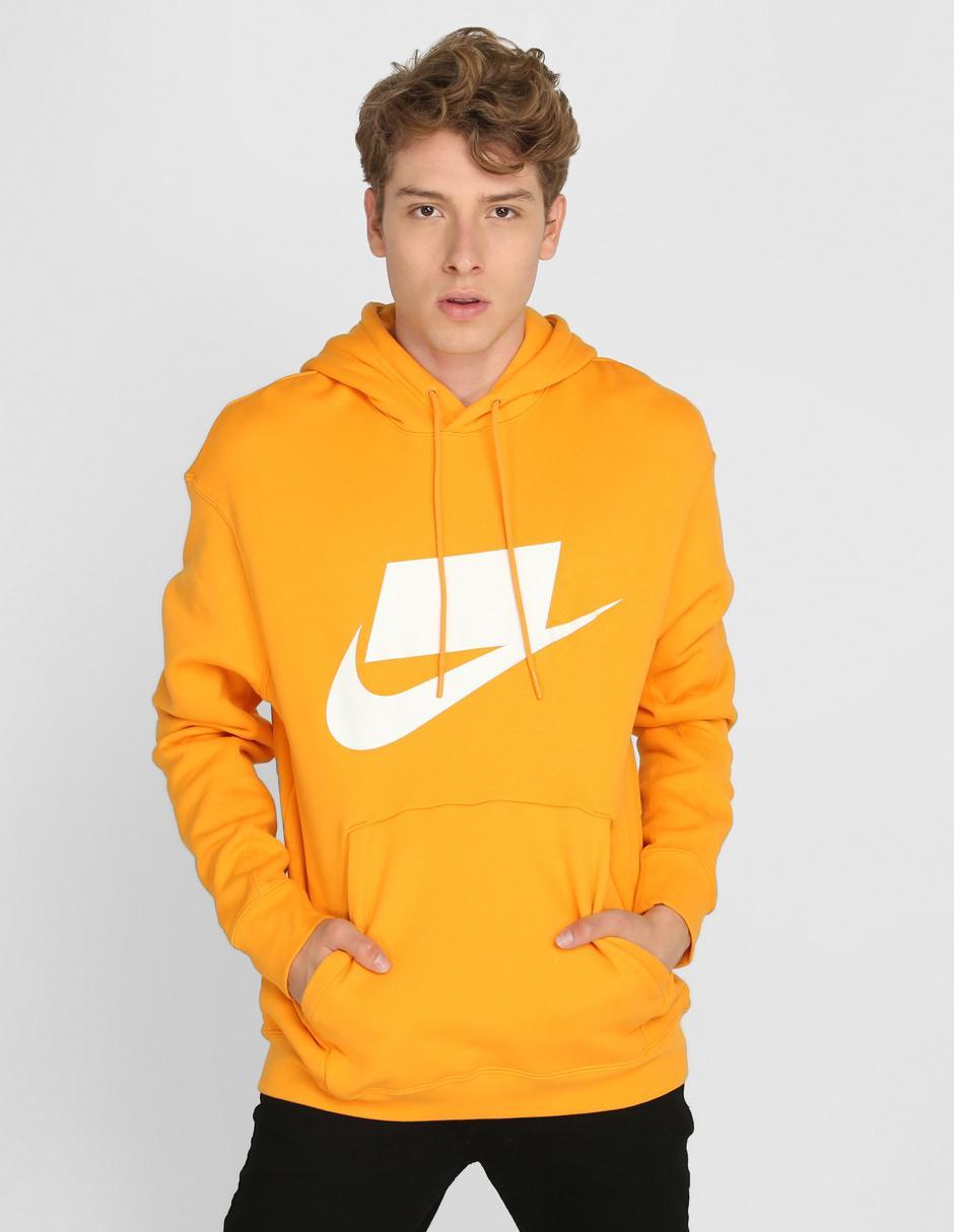 Buscar a tientas Abigarrado Chicle  Sudadera Nike cuello redondo amarilla con capucha en Liverpool