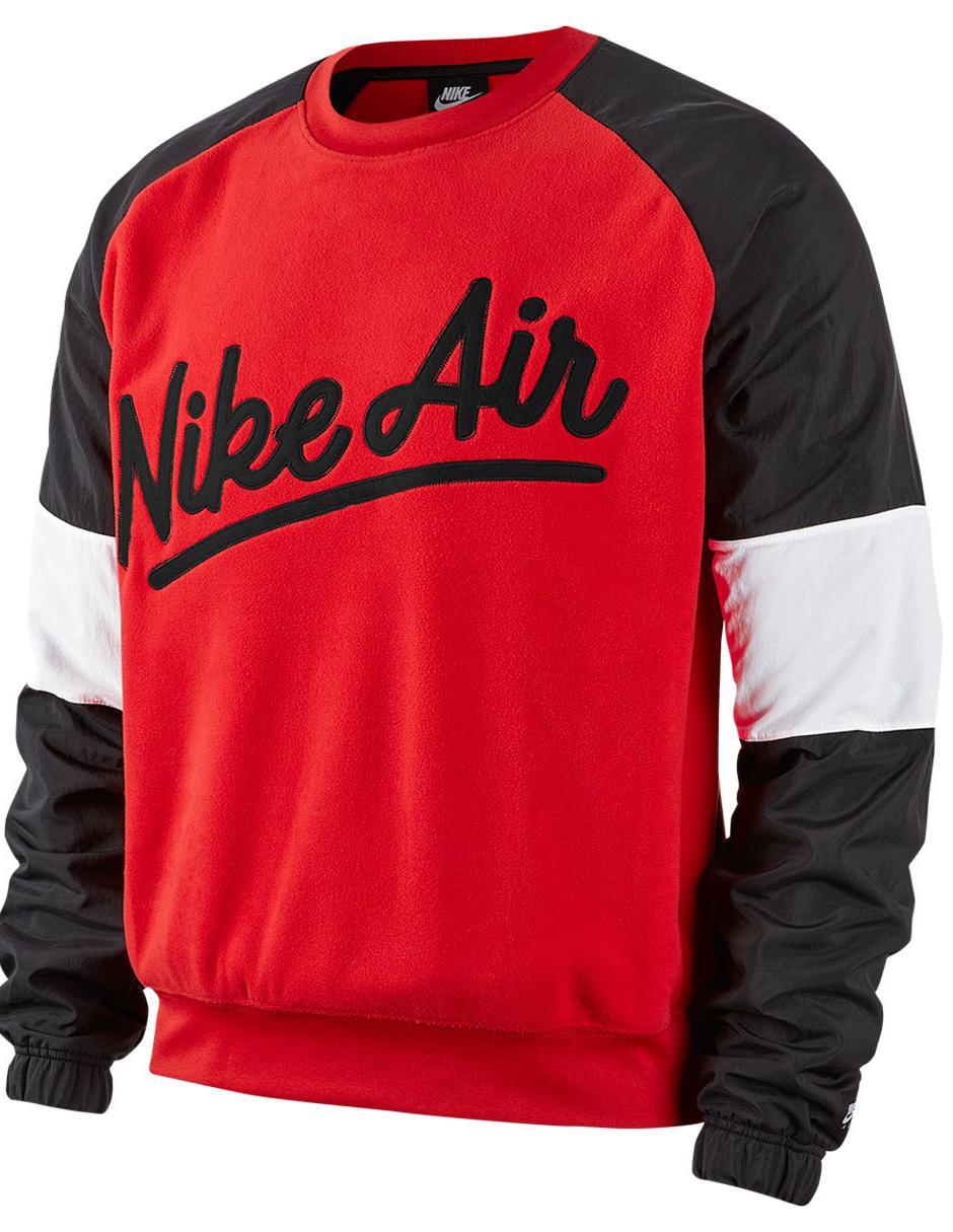 cubierta Exclusión mezclador  Sudadera Nike Air cuello redondo roja en Liverpool