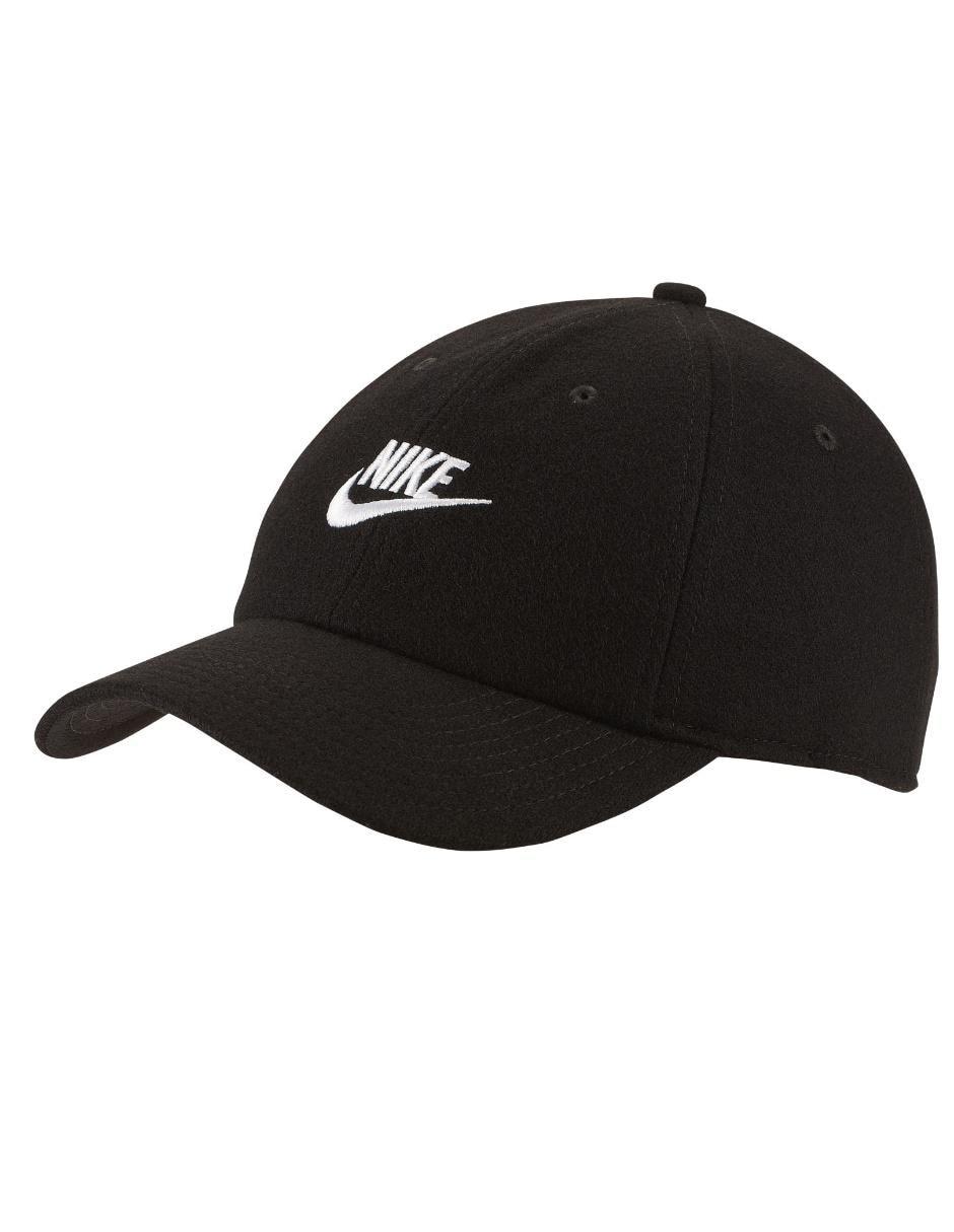 100% de alta calidad hermoso estilo baratas Gorra Nike negra con logotipo en Liverpool