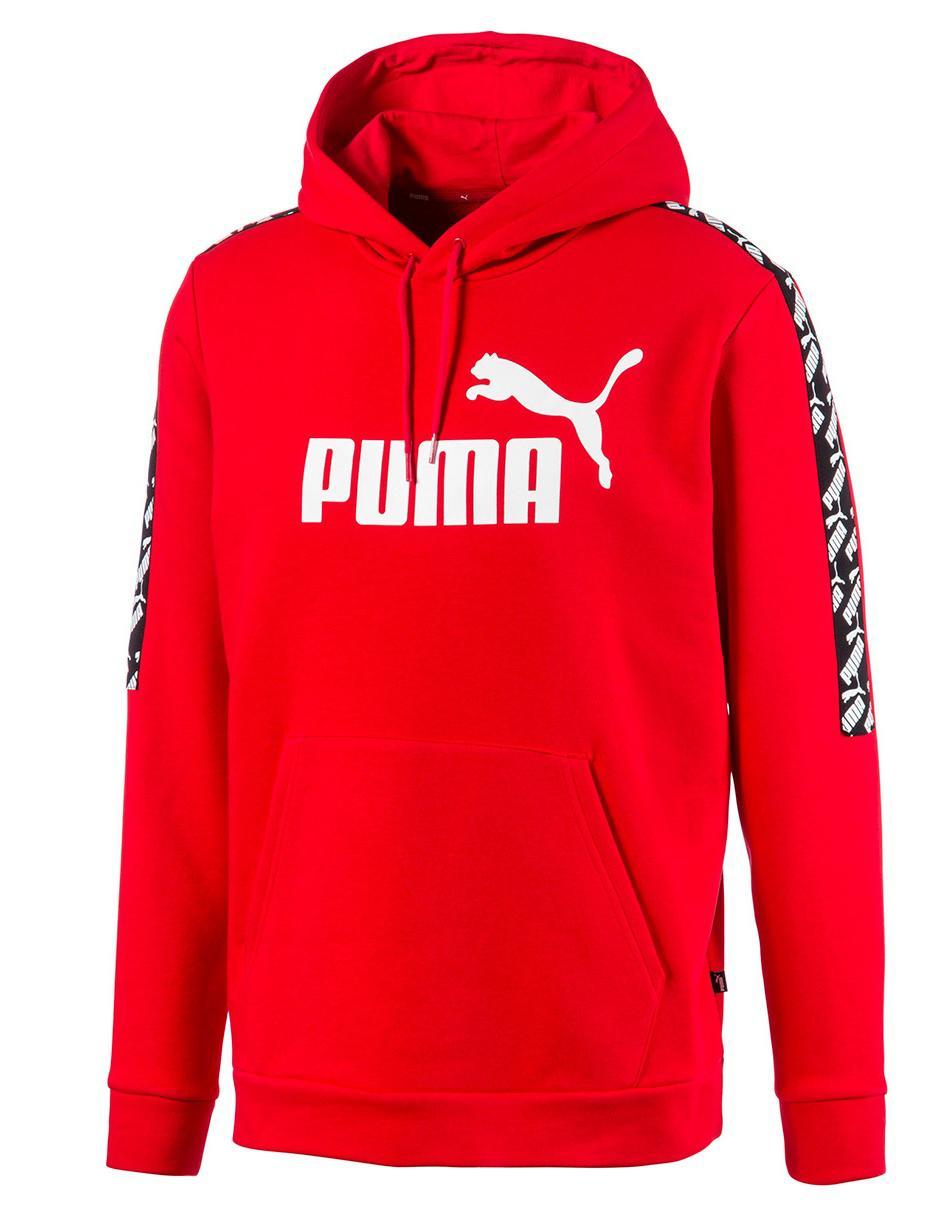 Libro Estéril reflejar  Sudadera Puma cuello redondo roja con logotipo en Liverpool