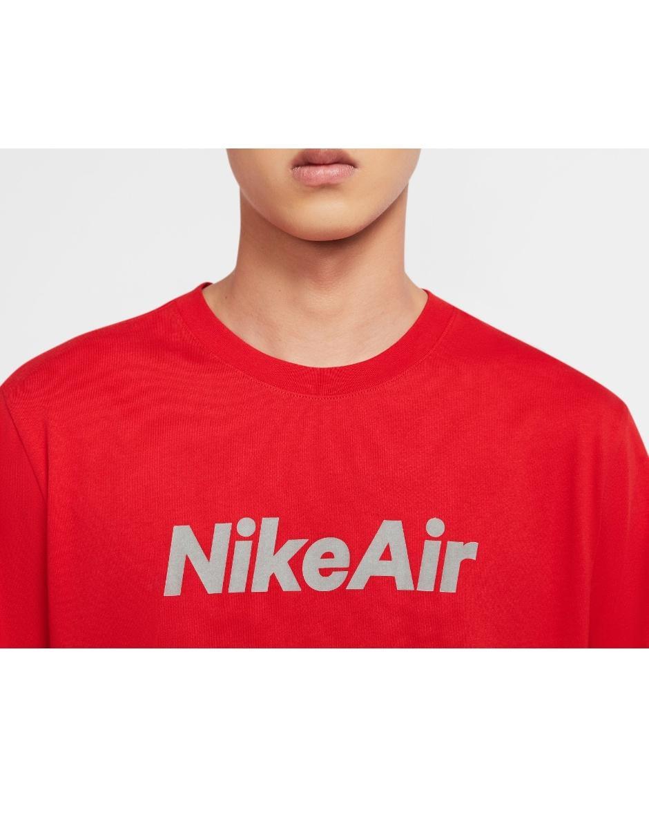 Qué Estallar Atticus  Playera Nike corte regular fit cuello redondo roja en Liverpool