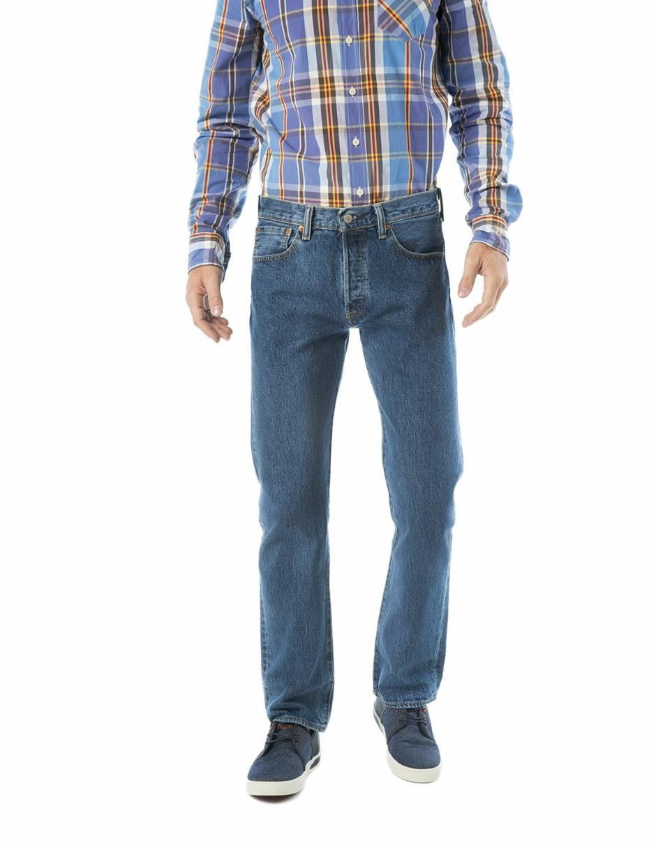 Jeans Straight Levi S 501 Claro En Liverpool